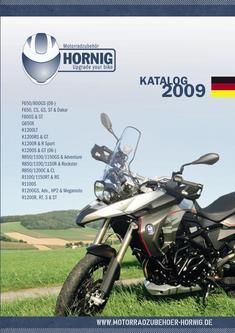 BMW Motorradzubehör 2009