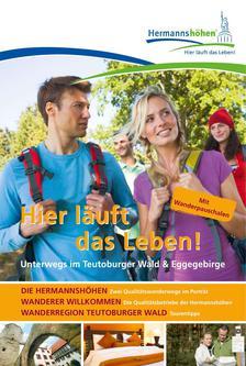 Hermannshöhen - Wandermagazin mit Gastgeberteil