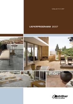 LIEFERPROGRAMM 2007