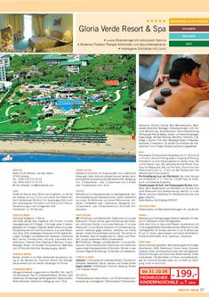 Gloria Verde Golf Resort & Spa - Region Belek