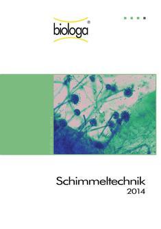 Schimmeltechnik 2014