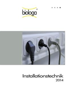 Installationstechnik 2014