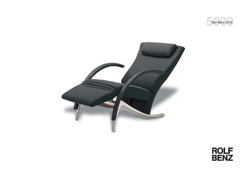 Collection 5000 Sessel 3100 Von Rolf Benz