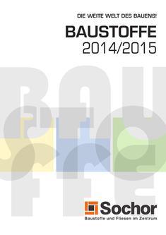 Baustoffe 2014