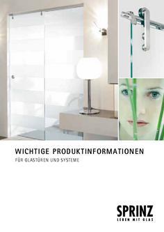 Produktinformationen Türen 2012