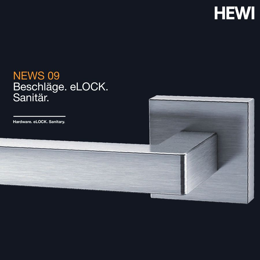 News Beschläge 2009 von HEWI Heinrich Wilke GmbH