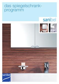 aluminium spiegelschrank sanibel 3001 in Sanibel 3001