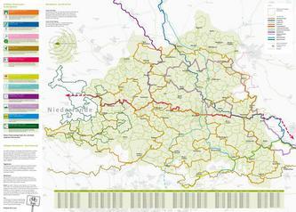 Rad-Planungskarte Münsterland 2012