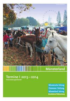 Veranstaltungskalender 2013/2014