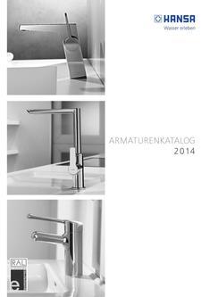 unterputz armatur in armaturenkatalog 2014 von hansa. Black Bedroom Furniture Sets. Home Design Ideas