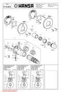 hansa varox thermostat in hansa armaturen ersatzteilkatalog 2012 von hansa metallwerke ag. Black Bedroom Furniture Sets. Home Design Ideas