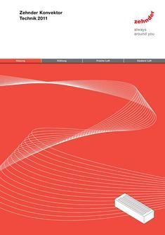Technische Broschüre Zehnder Konvektor