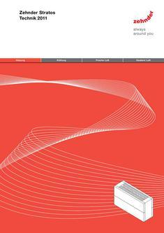 Technische Broschüre Zehnder Stratos