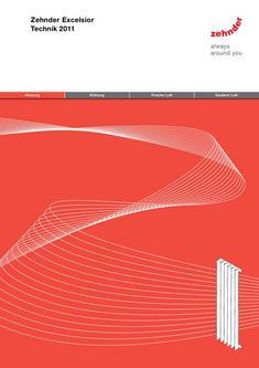 Technische Broschüre Zehnder Excelsior