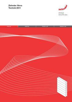 Technische Broschüre Zehnder Nova