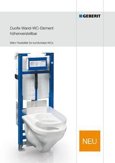geberit duofix wand wc element in duofix wand wc element h henverstellbar von geberit vertriebs. Black Bedroom Furniture Sets. Home Design Ideas