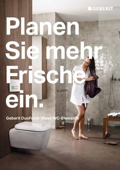 Geberit DuoFresh Wand WC-Elemente 2012