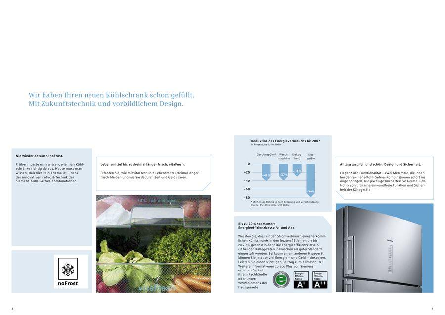 Siemens Family Line Kühlschrank : Kühlschränke mit nofrost von siemens electrogeräte deutschland
