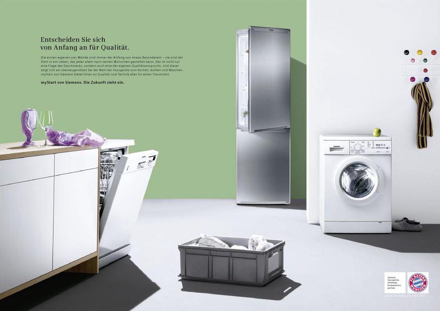 Siemens Kühlschrank Coolbox : Mystart von siemens electrogeräte deutschland