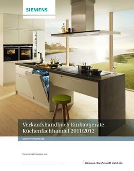 Verkaufshandbuch Einbaugeräte Küchenfachhandel 2011/2012