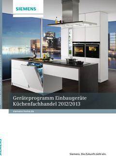 Geräteprogramm KFH 2012/2013