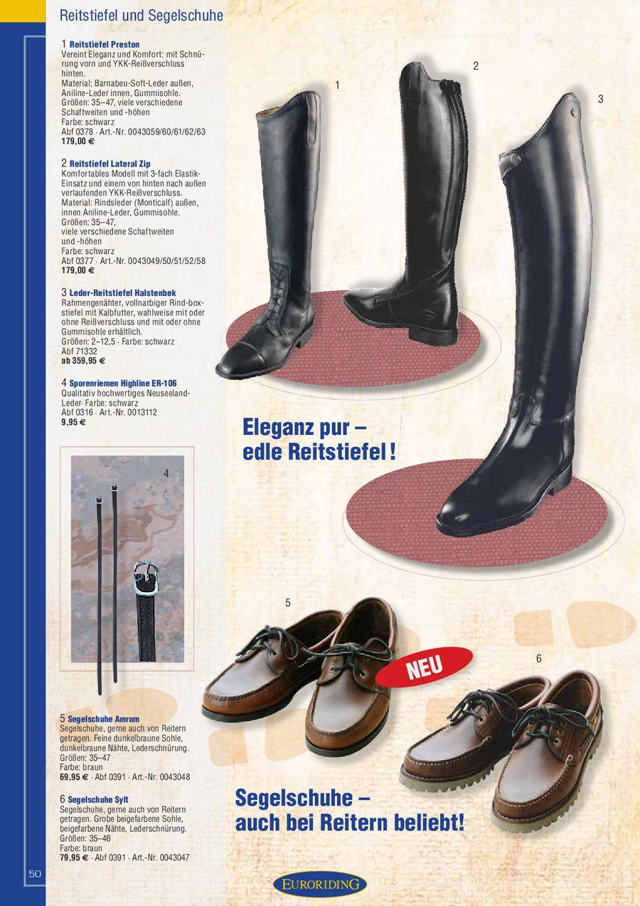 /%/% Euroriding Schuh Sylt mit Profilsohle /%/%