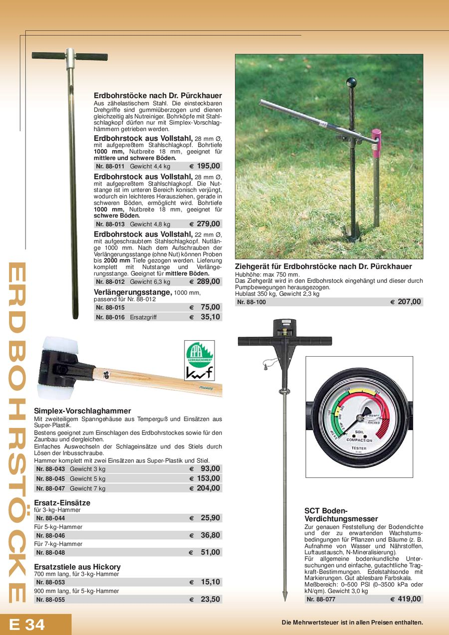 Seite 372 von Ausrüstungen für Wald, Landschaft, Natur und