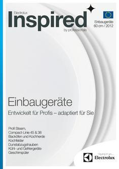 Einbaugeräte Euro-Norm 60cm 2012
