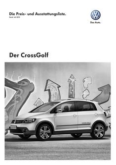 VW CrossGolf Juli 2010