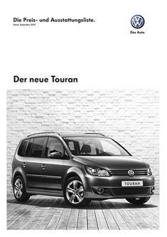 VW Touran September 2010