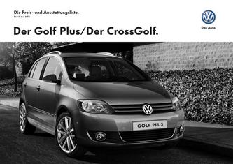 vw golf plus abmessungen in vw golf plus crossgolf preis. Black Bedroom Furniture Sets. Home Design Ideas