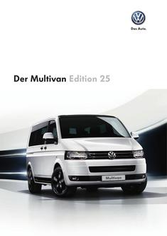 Der Multivan Edition 25 2013