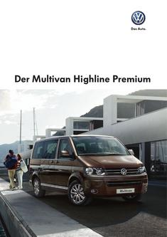 Der Multivan Highline Premium 2013