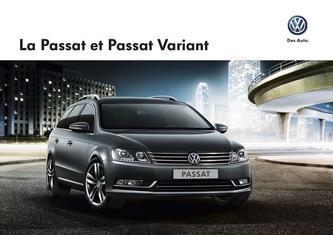 VW Passat et Passat Variant 2013 (Französisch)