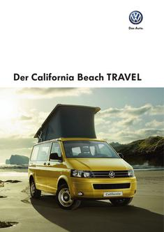 VW California Beach TRAVEL 2013