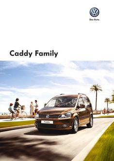 VW Caddy Family 2013
