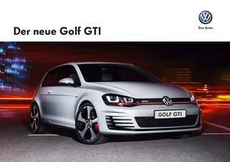 VW Golf GTI 2013