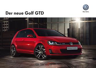 VW Golf GTD 2013