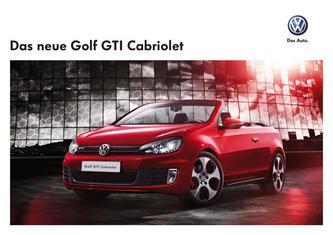 VW Golf GTI Cabriolet 2013