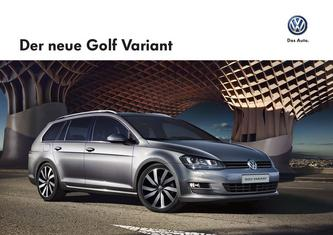 VW Golf Variant 2013