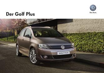 VW Golf Plus & CrossGolf 2013