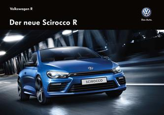 VW Scirocco R August 2014