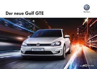 VW Golf GTE September 2014