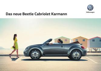 VW Beetle Cabriolet Karmann 2016