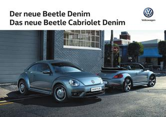VW Beetle Denim 2016