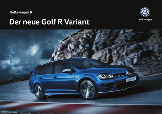 VW Golf R Variant 2016