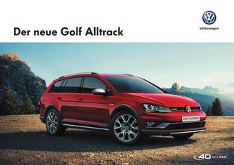 VW Golf Alltrack 2016