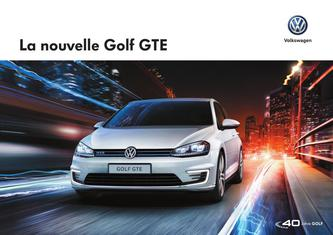 VW Golf GTE 2016