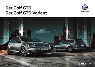 VW Golf GTD 2016