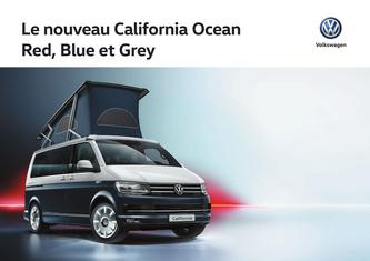 California Ocean Red, Blue & Grey 2017 (Französisch)